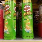 Croustilles Pringles crème sûre et oignon