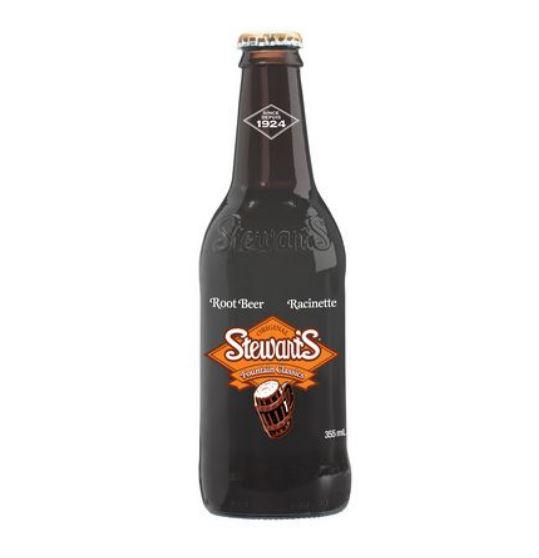 racinette Stewart's root beer