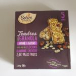 Barres tendres Granola avoine et raisins de Select Choice