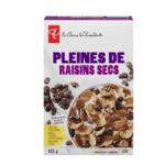 Céréales pleines de raisins secs Le Choix du Président
