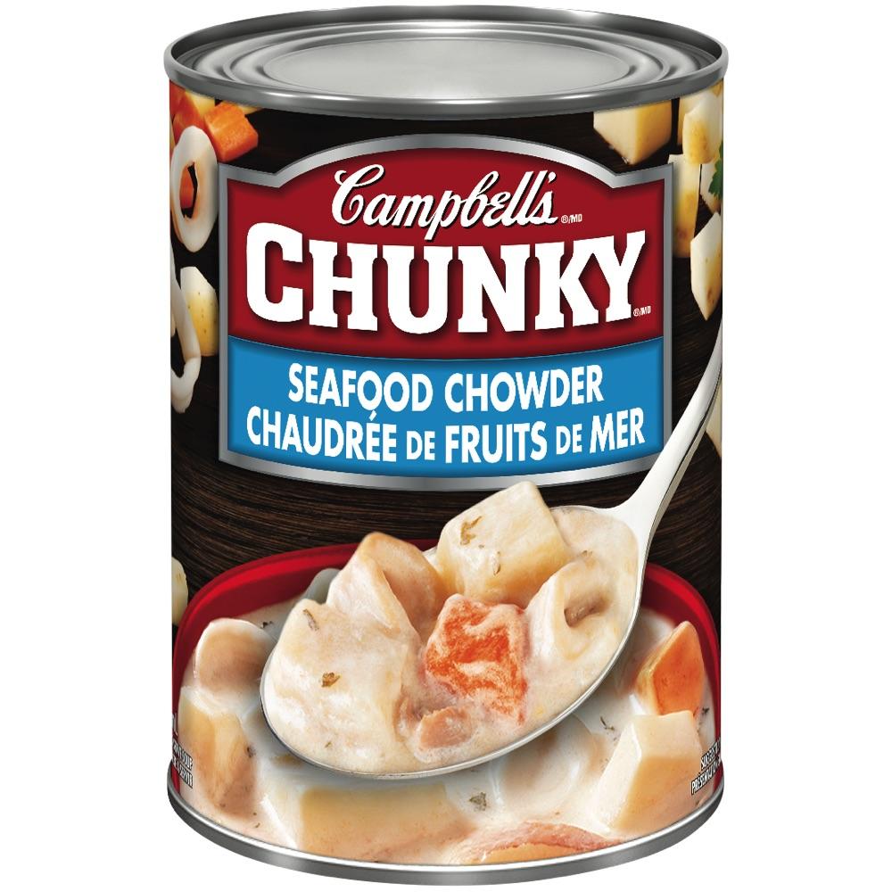 Chunky chaudrée de fruits de mer