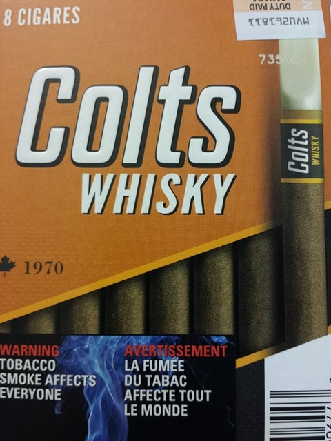 Cigares Colts Whisky