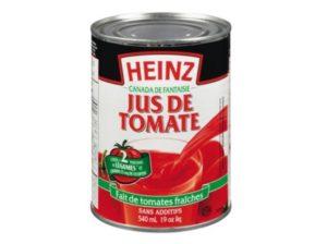 Just de tomates en conserve Heinz