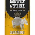 Bière La Bittt à Tibi Brassin Nomade Lager Blonde