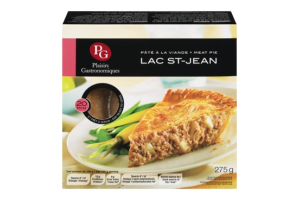 Pâté à la viande Lac St-Jean de Plaisirs Gastronomiques