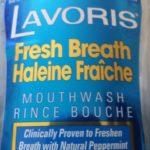 Rince bouche Lavoris à la menthe poivrée