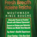 Rince bouche Lavoris à le menthe verte