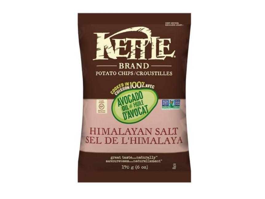 Kettle sel de l'hymalaya et cuisson avec huile d'avocat