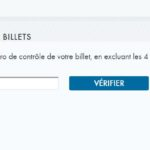 Vérification de vos billets Loto-Québec en ligne
