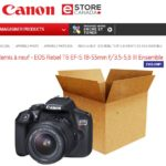 Soyez viligants avec les offres par courriel de Canon eStore Canada
