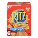 Rappel des craquelins sandwiches à saveur de fromage, Mini Ritz