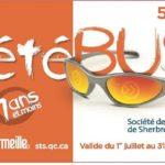 Sherbrooke est innovatrice avec sa carte ÉtéBus pour les jeunes