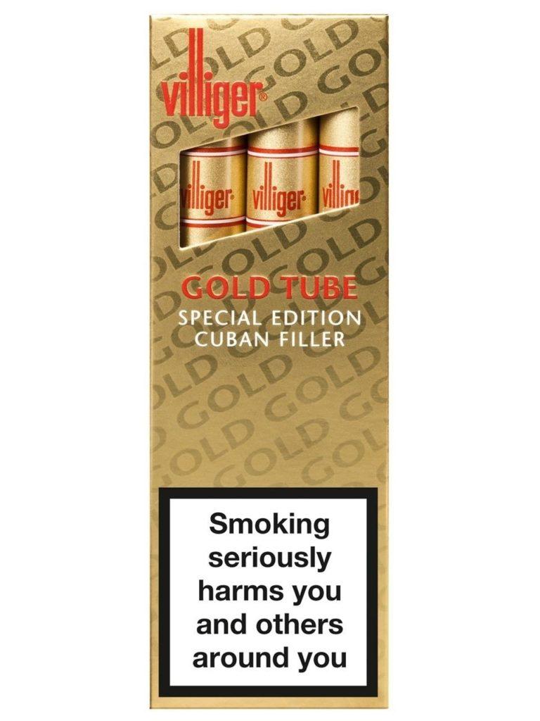 cigares Villiger Gold Tubes