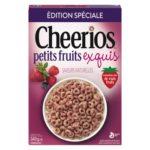 Céréales Cheerios petits fruits exquis