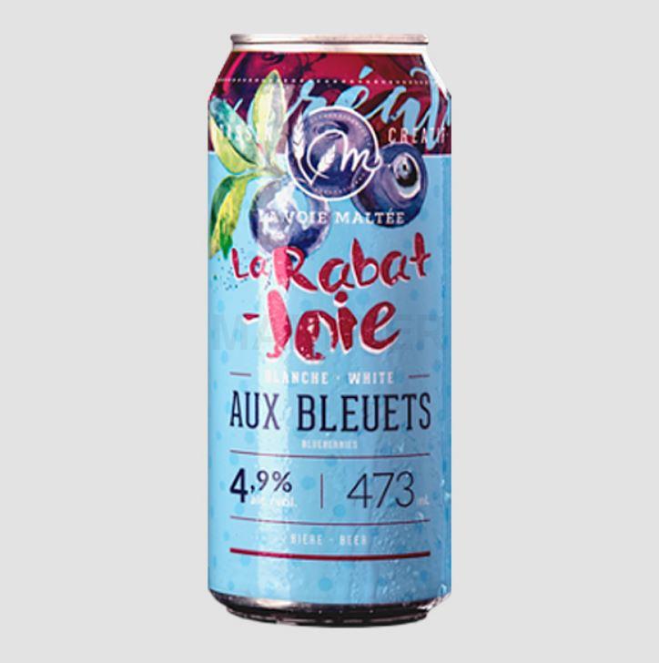 Bière La Rabat-Joie aux bleuets