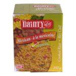Dainty riz cuit à la mexicaine