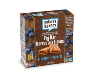 Barres aux figues Nature's Bakery aux bleuets