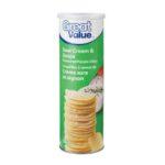 Croustilles à saveur de crème sure et oignon Great Value