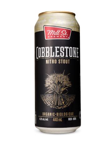Bière Cobblestone Nitro Sout de la brasserie Mill St.