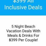 BookVIP $399 par couple pour 5 nuits de vacances au Mexique