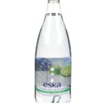 Eau de source gazéifiée ESKA à l'arôme naturel de lime