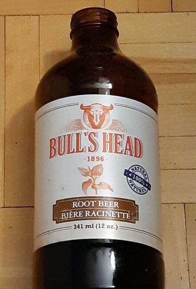 bouteille 341 ml bière racinette Bull's Head