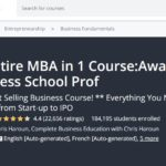 Udemy MBA complet