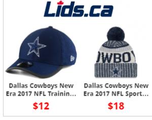 Surveillez bien les prix chez Lids.ca