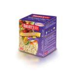 Dainty riz cuit à l'ail rôti et huile d'olive