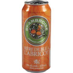 bière de blé à l'abricot St-Ambroise