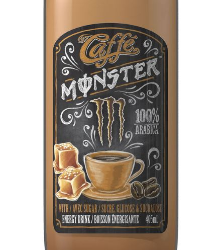 Caffé Monster au caramel