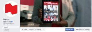 Assistant virtuel Facebook de la Banque Nationale du Canada