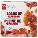 Pizza pleine de pepperoni Choix du Président