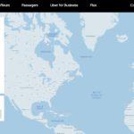 Outil d'estimation de votre trajet en Uber