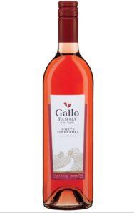 Vin rosé Gallo White Zinfandel 2018