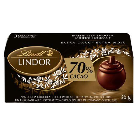 Lindt Lindor 70% cacao