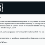 DAZN collectera la TVQ