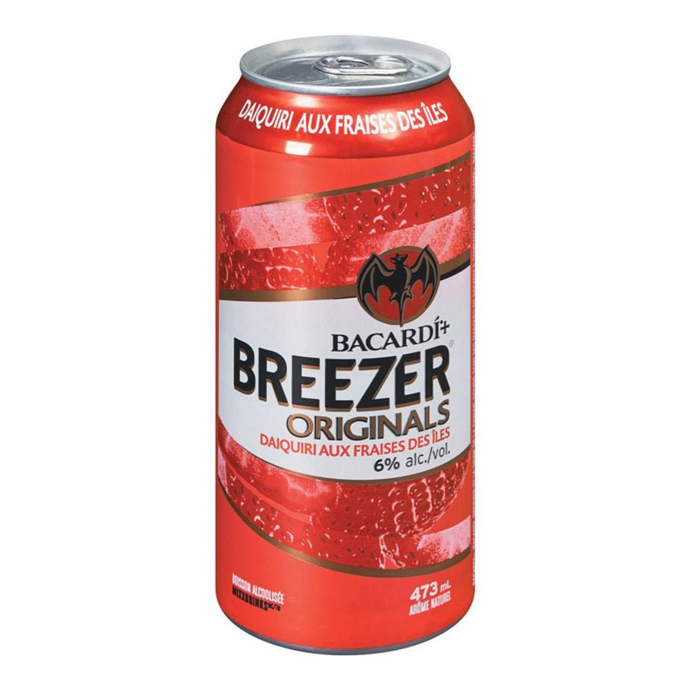 Breezer Originals Daiquiri à la fraide des îles