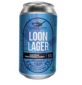 A buck a beer - Loon lager - bière à 1$ en Ontario