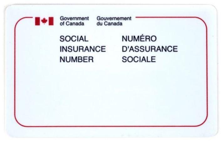 Le NAS (Numéro d'Assurance Sociale) Canada