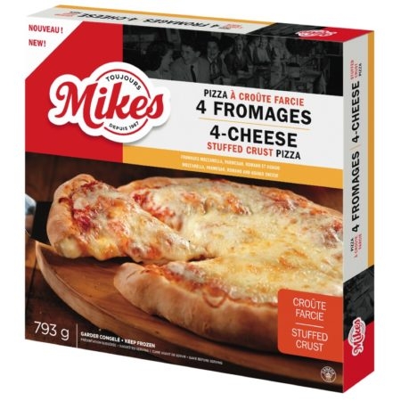 Pizza à croûte farcie 4 fromages Mikes