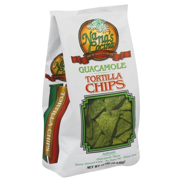 Nana's Cocina Tortilla Chips, Guacamole