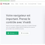 Essai du navigateur Vivaldi sur ordinateur Windows