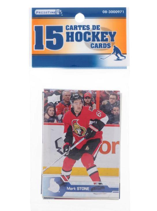 Cartes de hockey Presstine