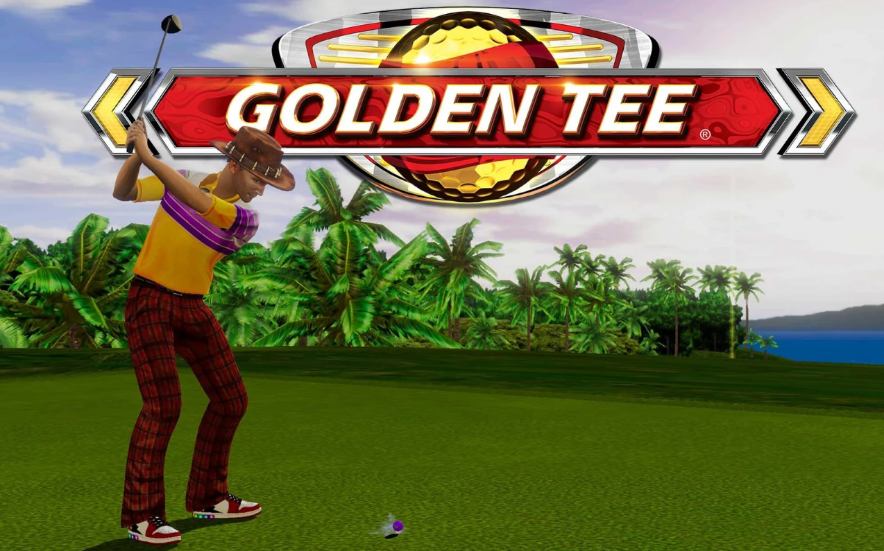 Application de jeu de golf Golden Tee