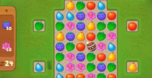 Gardenscapes style Candy Crush