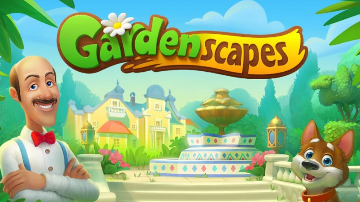 Gardenscapes, applicationde jeu pour Android