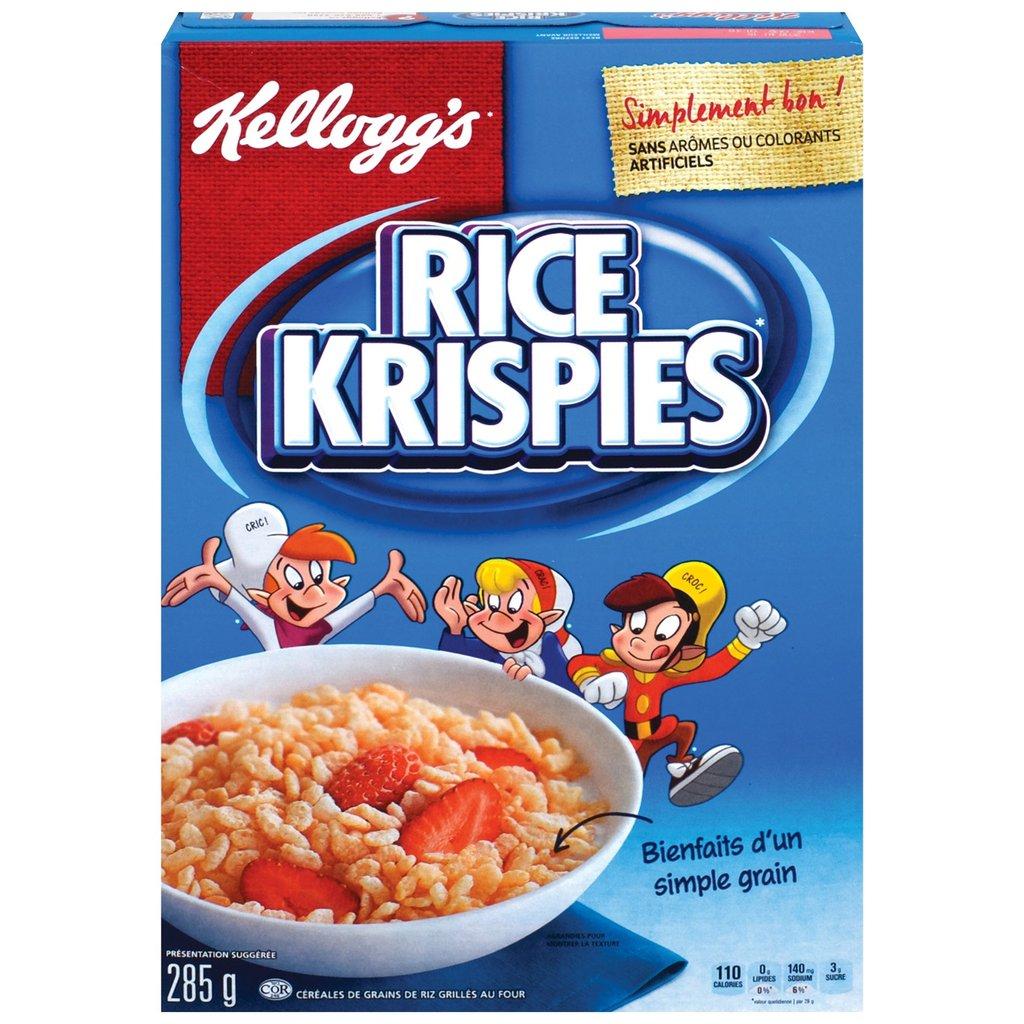 Céréales Rice Krispies de Kellogg's