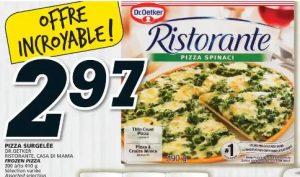 Pizza Surgelée Ristorante, Casa Di Mama Dr. Oetker aubaine vedette de la semaine