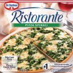 Essai de la pizza surgelée Ristorante Pizza Spinaci de Dr. Oetker